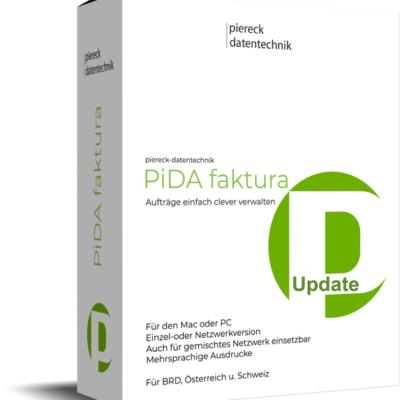PiDA faktura Update