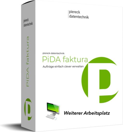 PiDA faktura, weiterer Arbeitsplatz